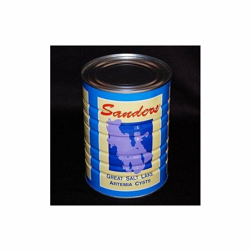 Artemia Eier Sanders Premium Great Salt Lake 90 % Schlupf - 425g