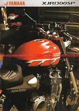 YAMAHA XJR 1300 SP - 2000 : Brochure - Dépliant - Moto                    #0603#