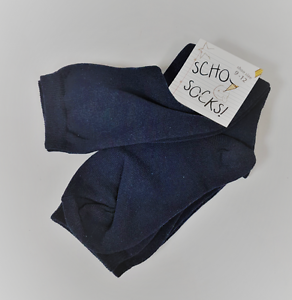 Children-039-s-Size-9-12-Navy-Knee-High-Socks-Back-To-school-Unisex-Multi-pack-2-4-6