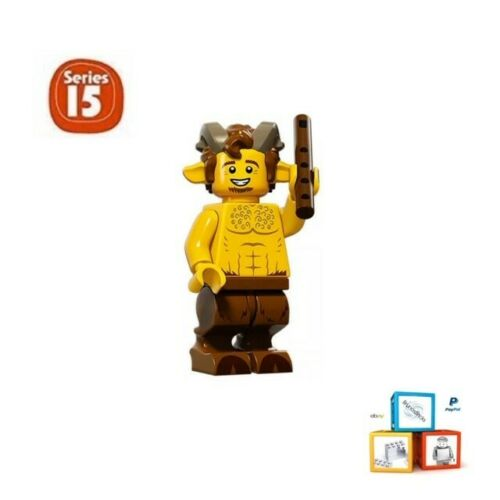 LEGO 71011 Series 15 Minifigures packet opened to identify content New