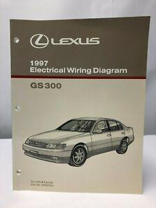 1997 LEXUS GS 300 Electrical Wiring Diagram GS300 OEM | eBay
