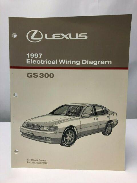 1997 Lexus Gs 300 Electrical Wiring Diagram Gs300 Oem