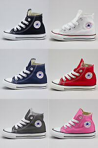 Converse Toddlers//Infants C//T A//S HI Trainers new in UK Size 2,3,4,5,6,7,8,9,10