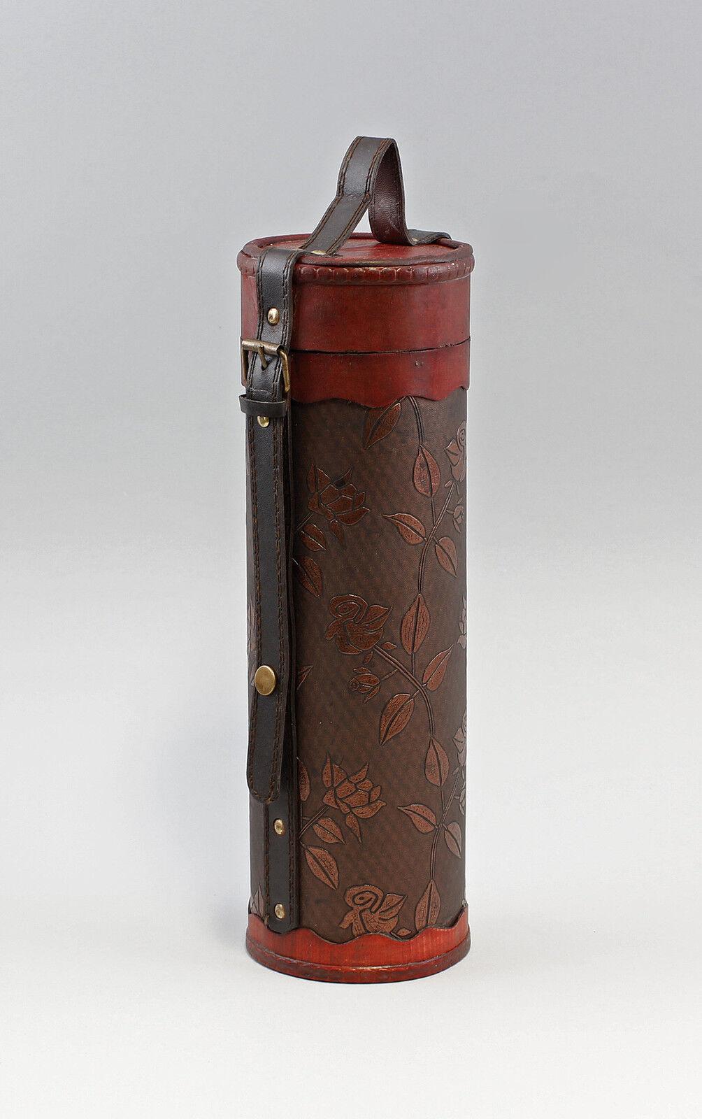 Flaschen-Box Tragetasche für Flasche Schachtel Lederoptik 9937975     | Am wirtschaftlichsten