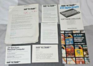 Discipliné Sinclair Zx Spectrum Paperasse Signée Nigel Searle Md Etc....-afficher Le Titre D'origine