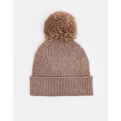 Joules Womens Gracie Chenille Hat in Oatmarl in One Size