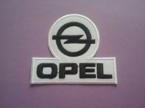 e MOTORSPORTS RACING CAR VAN TRUCK SEW ON /& IRON ON PATCH: CORSA ASTRA OPEL