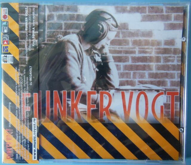 Funker Vogt - Thanks For Nothing CD NEW RUSSIAN EDITION WITH OBI