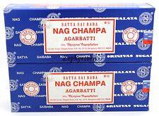 2 X 250 Gram Nag Champa Boxes Original Incense Sticks - 500 Grams  FREE SHIPPING