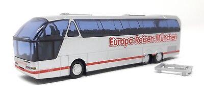 AWM Bus Neoplan N516 Starliner Europa Reisen München H0 1:87 Plastik Vitrine