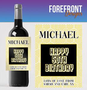 Personalised-wine-bottle-label-Perfect-50th-Birthday-Wedding-Graduation-Gift
