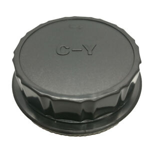 Camera-Body-Front-Rear-Lens-Cap-Cover-Kit-For-Contax-Yashica-C-Y-CY-Mount-DSLR