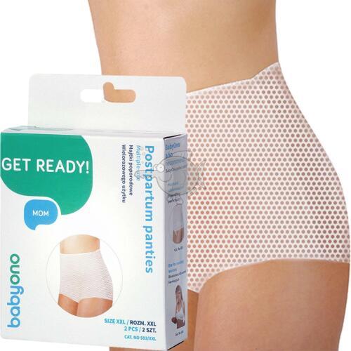 Maternity Knickers Hospital Pregnancy PostPartum Pants Briefs Babyono