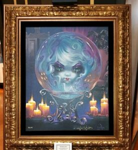 Disney-Parks-Haunted-Mansion-Madame-Leota-LE-Framed-Giclee-Becket-Griffith-50th