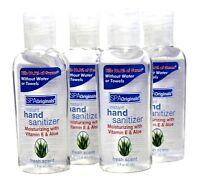 (4 Pack) Spa Originals Instant Hand Sanitizer Moisturizing W Vitamin E Aloe 2oz