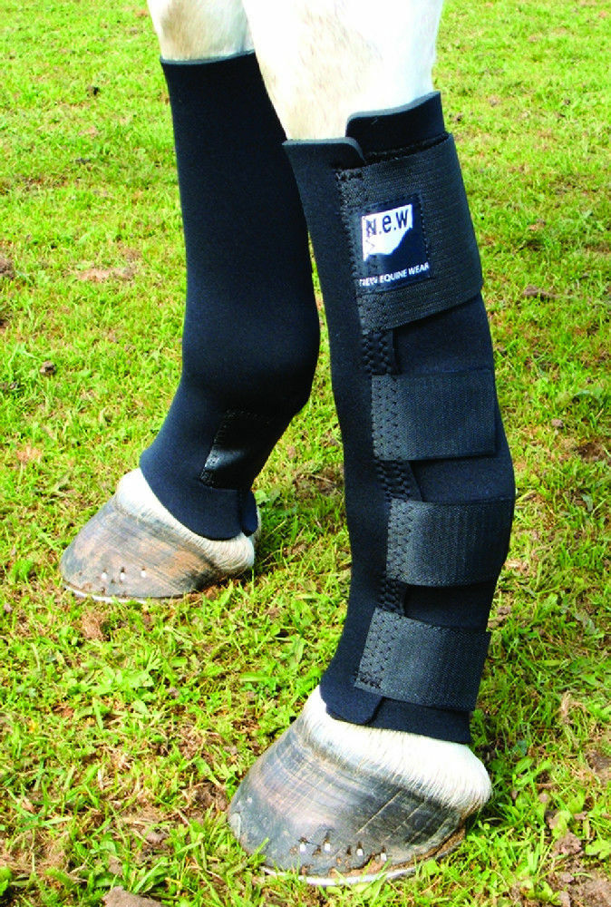 New Equine Wear.  Freedom Stretch Turnout  Boots. Extra Large Front Hind