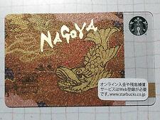 Starbucks Gift Card JAPAN City Nagoya 2012