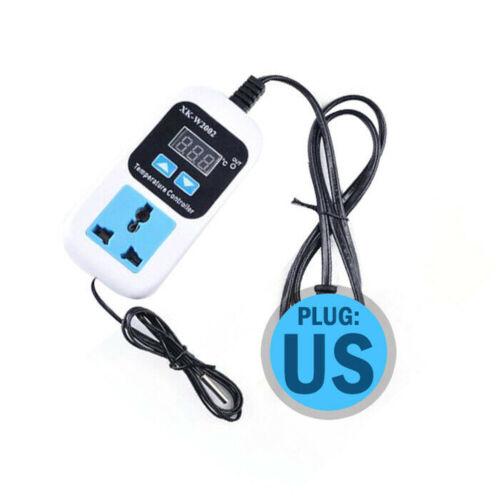Digital Temperaturregler Hygrostat Schaltsteckdose 110V-220V EU US 10A Max