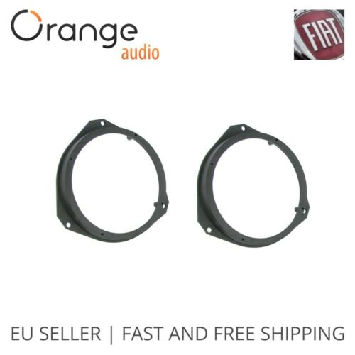 """Fiat Ducato Grande Punto Front Door Speaker Adaptors Rings 16 cm 160 mm 6.5/"""""""