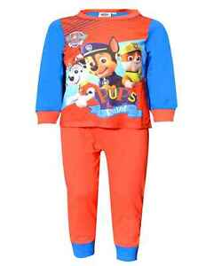 1-5 Years Pyjamas,Original//Official Paw Patrol  Boys Pyjamas,Boys Nightwear,Age