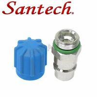 Bmw 318i M6 Alpina 528xi 535xi Santech A/c Service Valve For Suction Pipe R134a on sale