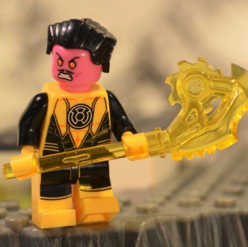 DC Super heroes SINESTRO Yellow figure US Seller LANTERN green