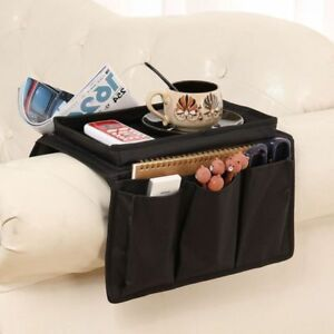 Couch Buddy Remote Control Holder Sofa Arm Rest Organizer Caddy With