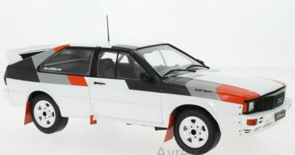 IXO 18CMC011 Audi Quattro de grupo B Modelo de Coche Rally Spec 1982 1 18th Escala