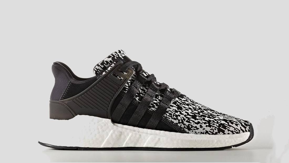 Adidas EQT Support 93/17 Black Glitch Camo White Oreo BZ0584 Size 8-13