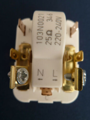 GENUINE DANFOSS TL /& NL STARTING DEVICE RELAY 103N0021 WITH 4.8MM TERMINALS