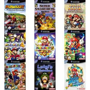 Nintendo-GameCube-Best-of-Nintendo-Mario-amp-Luigi-Spiele-Zustand-auswahlbar
