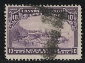 MOTON114-101-Centenary-10c-Canada-used-well-centered