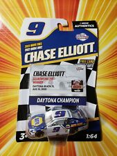 Chase Elliott #9 2020 Daytona Win NASCAR Authentics 2021 Wave 2 1//64 Diecast