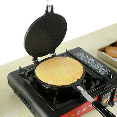 Waffles Cone Baking Pan Egg Roll Crispy Omelet Machine Bakeware Maker Cooking