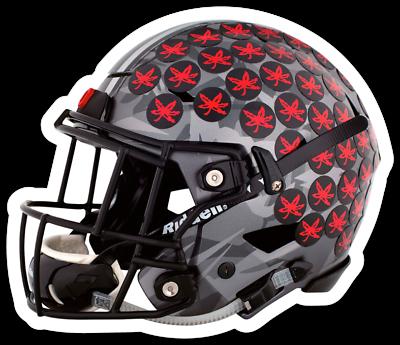 O.S.U. Ohio State University Buckeyes Football Helmet w ...