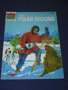 Vintage-HOW-AND-WHY-Wonder-Book-of-THE-POLAR-REGIONS