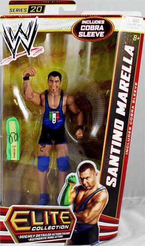 WWE ELITE collezione Series   20_SANTINO MARELLA 6 azione cifra_nuovo & Unopened