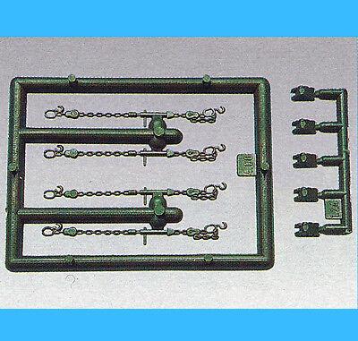 Roco Minitanks H0 1053 VERLADEKEILE und ZURRKETTEN OVP HO 1:87 lashing chains