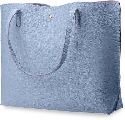modische Damentasche Shopperbag Einkaufstasche Handtasche mit Fransen schwarz