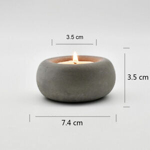 Round Candle Holder Mold