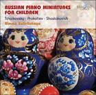 Russian Piano Miniatures for Children (CD, Mar-2011, Brilliant Classics)