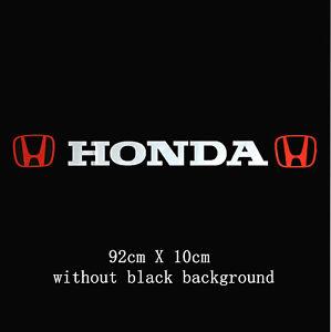 honda background information