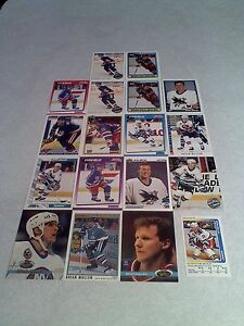 Brian-Mullen-Lot-of-50-cards-23-DIFFERENT-Hockey
