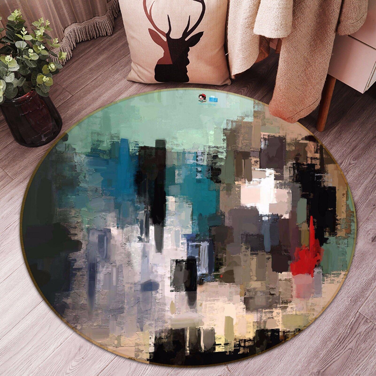 3D Abstract Painting 838 Non Slip Rug Mat Room Mat Round Elegant Photo Carpet CA