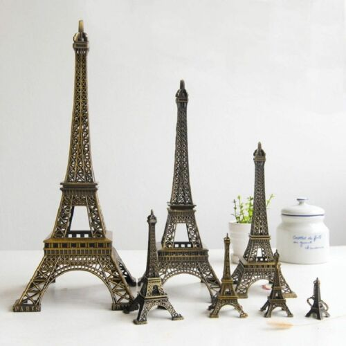 Tour Eiffel Figurine Bronze Statue De Paris Modèle Décor Etagère Décor #TY1