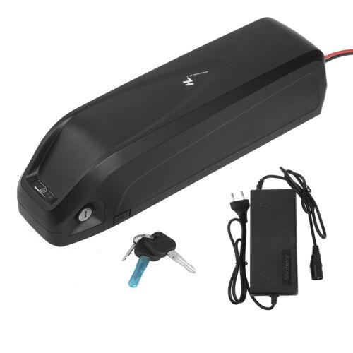 48V Li-ion Electric E-Bike Battery Pack Bicycle w Charger Lockable Antithef UK