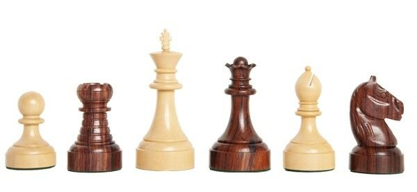 USCF Sales The Mechanics Institute Institute Institute Commemorative Chess Set - Pieces Only - 4.25  be9a08