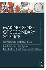 Making Sense of Secondary Science : Research into Children's Ideas by...