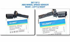 Set 0f 2 ABS Wheel Speed Sensor Rear - Left & Right Fits: Audi & Volkswagen