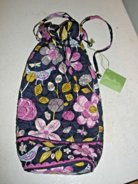 359ca8fab219 Vera Bradley Floral Nightingale Cheers to You Wine Gift Bag Bottle ...